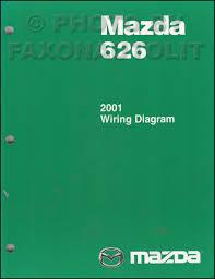 mazda 626 service manuals shop owner maintenance and repair 2001 mazda 626 wiring diagram manual original