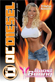 2010 Boost Bunny Wall Poster featuring Trisha Smith