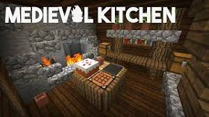 Minecraft How to make a medieval kitchen MinecraftVideosTV
