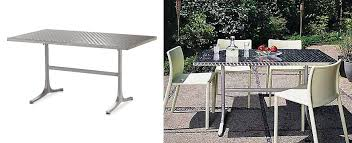view in gallery stainless steel dining table from design within reach