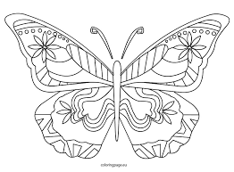 Small Picture coloring pages of butterflies