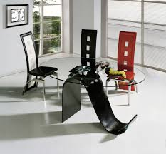 Glass Dining Room Tables To Revamp With From Rectangle To Square - Glass dining room furniture sets