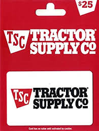 Amazon.com: Tractor Supply Company Gift Card $25: Gift Cards