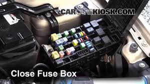 replace a fuse mercury milan mercury milan 6 replace cover secure the cover and test component