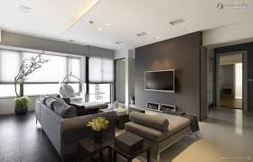 living room furniture miami: modern gray and white living room furniture miami photo features gray sofa and bubble hanging chair also two square teak wood end tables also rectangle