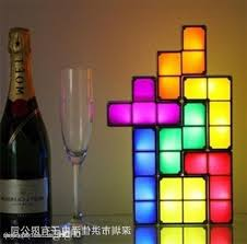 new hot tetris stackable led desk lamp tetris lamp party with regard to incredible residence tetris stackable led desk lamp designs