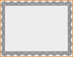 Free Certificate Templates For Word Certificate Template Certificate Border New Template Certificate