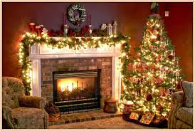 Beautiful Ideas For Christmas Fireplaces Decor  Christmas Mantels Christmas Fireplace Mantel