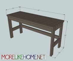 more like home day 2 build a casual desk with 2x4s i would