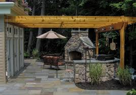 Outdoor Kitchen Fireplace Outdoor Kitchens Clc Landscape Design