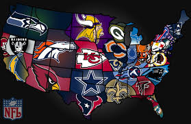 Image result for map of football teams