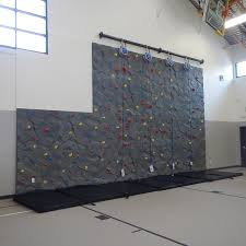 solidrock panels with trublue auto belays