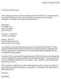 2bed3ed773fb407a ea8ab1 credit dispute letter sample