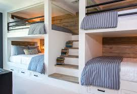 Custom Bunk Beds with Staircase
