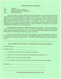 Parent-Teacher Conference Forms Due Friday, October 7 – Pequea ...