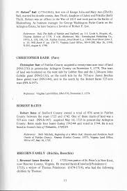 SOME EIGHTEENTH CENTURY FAMILY PROFILES PART I 1 The families who were the  first landowners in present-day Arling- ton County, V