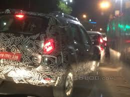 2018 renault duster india launch. simple duster renault duster facelift india spy shot to 2018 renault duster india launch