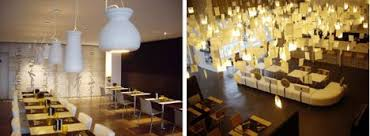 recycled lighting fixtures. Recycled Light Fixtures Resaturant Design Lighting