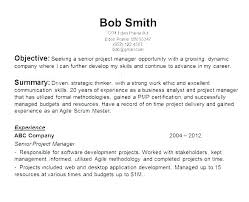 Human Resource Resume Objective Statement Resources
