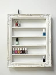 diy nail polish display
