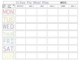 Printable Meal Planner Template Photo Planning Free Monthly Daily