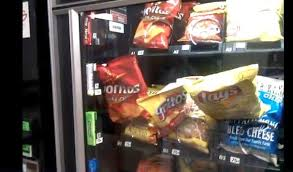 Stuck Vending Machine