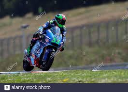 MotoGP - Czech Republic Grand Prix - Masaryk Circuit, Brno, Czech Republic  - August 9, 2020 Italtrans Racing Team's Enea Bastianini in action during  the Moto2 race REUTERS/David W Cerny Stock Photo - Alamy