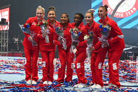 The vice president of the u.s. Talented And Diverse U S Women S Gymnastics Team Headed To Tokyo International Gymnast Magazine Online