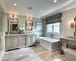 transitional bathroom ideas. Beautiful Bathroom Transitional Bathroom Ideas Mid Sized Master Gray Tile And  Marble Light Wood Floor Beige Images