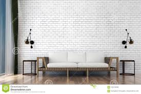 Interior Design Background Pictures The Minimal Living Room Interior Design And White Brick Wall