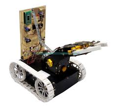 pick n place robotic arm and movement controlled by android wirelessly kit