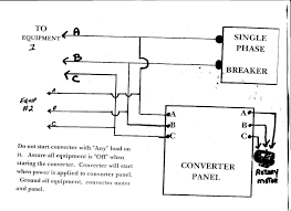 3 phase converter wiring diagram elvenlabs com panel board connection diagram at 3 Phase Circuit Breaker Wiring Diagram