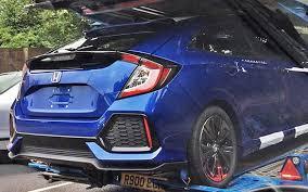 2017 Honda Civic Hatchback  I