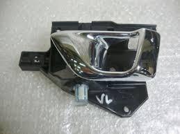 genuine jaguar x351 xj door handle opener grip chrome front left ew93 22601 aa