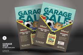 Garage Sale Flyer Corporate Identity Template 68650