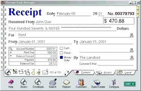 Rent Receipt Book Format Of Receipt Book Sample Receipt Book Free