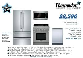 thermador appliance package. Thermador Package Appliance Cost . H