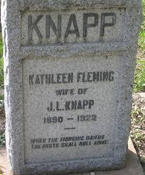Kathleen Fleming Knapp (1890-1922) - Find A Grave Memorial