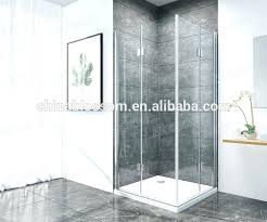 self cleaning shower blossom hinge pivot square folding door bathroom self cleaning glass shower enclosure cleaning