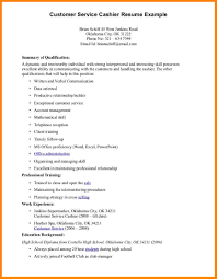 Sample Cashier Resume Free Resume Example And Writing Download
