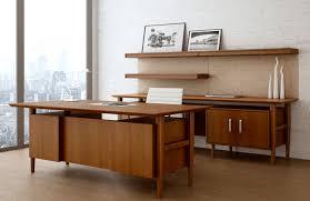 retro office desks. Neo Retro Modern Wood Office And Home Desk Set Desks C