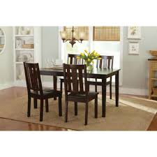 kitchen wood dining chairs classic home furniture decor mission style seat 2pcs