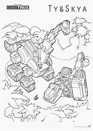Dinotrux Ton Ton Sommige Elektronische Roboter Kleurplaatvuurwerkco