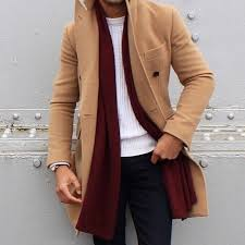mens coat camel coat 0027s fashion menswear 0027s outfit for fall winter