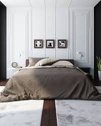 Bedroom Designs: Suede Duvet Black And White Bedroom Decor - Black White  Bedroom