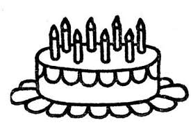Small Picture free pretty cake coloring pages Picture Of Birthday Cake To Color
