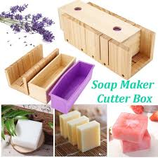 soap cutting tools set adjule wood loaf cutter box diy handmade soap making supplies with scale and slotting soap cutter soap making kits k65174132