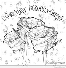 Happy Birthday Coloring Pages Printable Awesome Happy Birthday Mommy