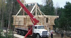 fabrication de maison en bois rond