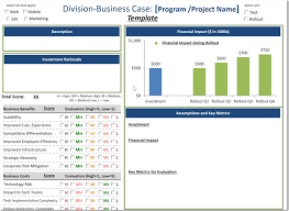 It Project Business Case Template Agile Portfolio Program Management Part II Governance Agile 11